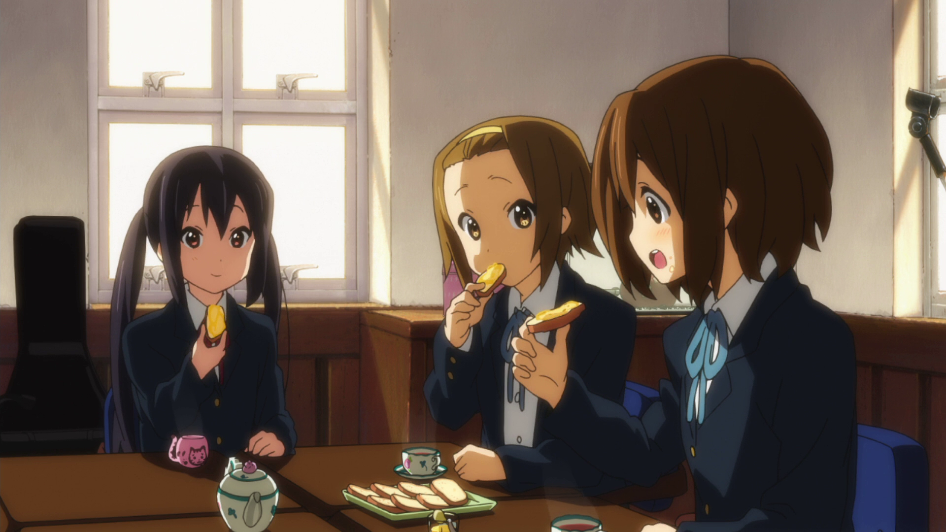 Image result for k-on eating