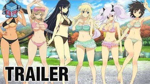 Senran Kagura Burst Official Trailer