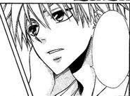 Takumi talking in the manga
