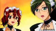 Surprised maids