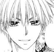 Takumi smiles at Misaki
