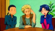 Confident moron trio