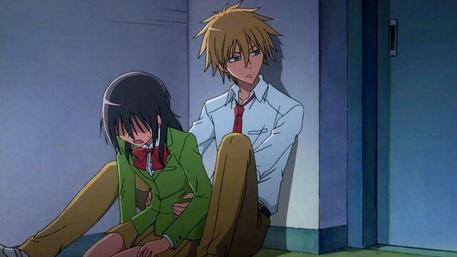 File:Misaki and Takumi hiding.jpg