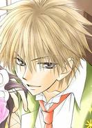 Manga color version of takumi