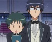 Yukimura and Kanou at the butler examination