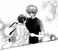 Takumi covers Misaki