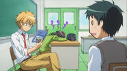 Takumi reading