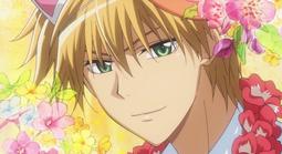 Takumi with cat ears