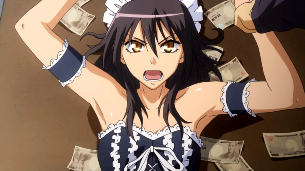 Image result for Kaichou wa Maid hd