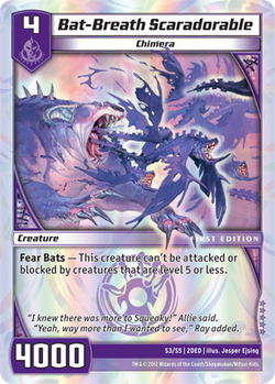Bat-Breath Scaradorable (2DED)