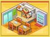 Cafeteria - anime studio story