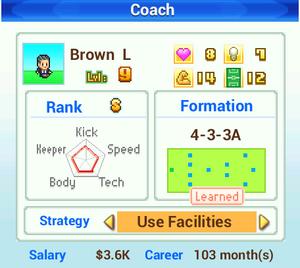Coach Info - Pocket League Story