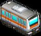 Orange Striped Train (Station Manager)
