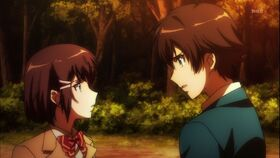 Shoko and Haruto in episode 10