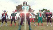 Rider 1 original (Kamen Rider Taisen)