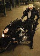 Skull Man Tokusatsu Motorcycle