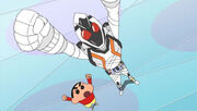 Fourze and Shin-chan