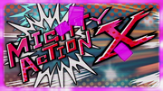 Mighty Action X Title Screen