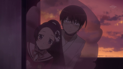 Elsie and Keima Invisible