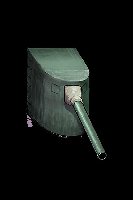14cm Single Gun Mount 004 Equipment