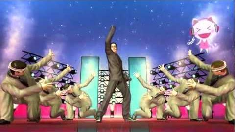 Yakuza Dead Souls Karaoke - Majima - GET to the Top!