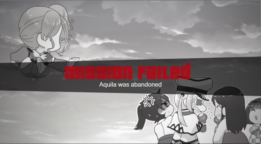 Aquila wasted