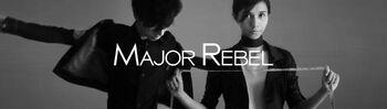 Akbar de Wighar & Chika Riznia Co-founder MAJOR REBEL