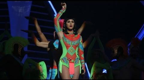 Katy Perry performs 'Dark Horse' BRIT Awards 2014