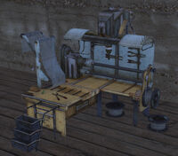 Chain Armour Crafting Bench