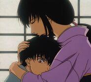 Tomoe and Enishi in Trust & Betrayal OVA