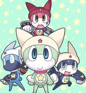 Shin Keroro's 3 forms