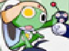 Keroro being affected by the gold eye