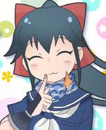 Koyuki in the flash series her first appearence