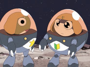 In space with keroro and tamama