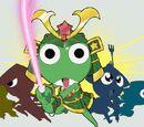 Warrior Kero: Debut! Planet Sengoku Ran Big Battle!!