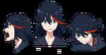 Ryūko Matoi face
