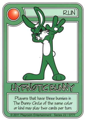 0777 Green Hypnotic Bunny-thumbnail