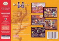 Killer Instinct Gold back cover