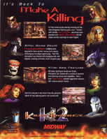 Killer Instinct 2 Flyer
