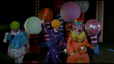 The gallery of the killer klowns from outer space killer for Who owns outer space