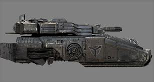 HGH Heavy Hovertank