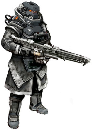 KILLZONE3 lmgtrooper concepts