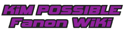 File:Kim Possible Fanon Wiki wordmark.png