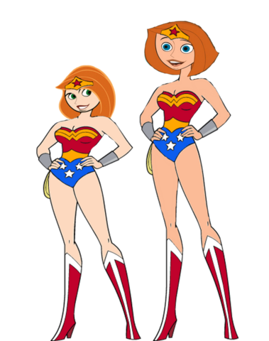 File:Kim possible and her mother as wonder woman by darthraner83-d8aek0r.png