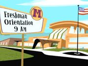 Freshman Orientation Readerboard