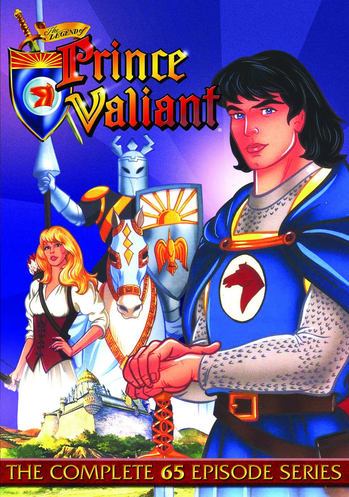 Comic image prince strip valiant