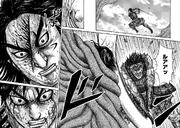 Shin Strikes Hou Ken's Face