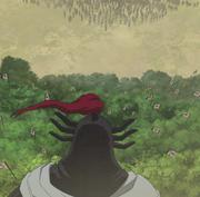 Ou Sen Stares At Ren Pa anime S2