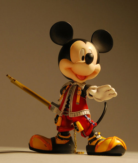 figurine mickey kingdom hearts