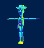 Unused Woody Summon Model KHIIFM